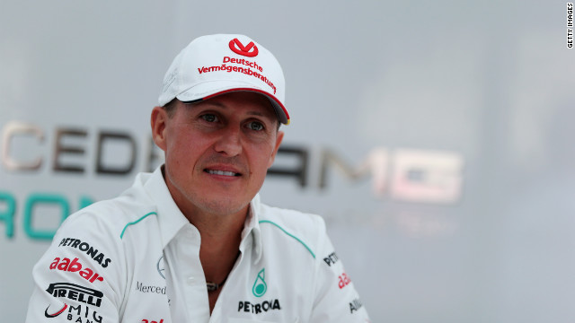 Schumacher injured in skiing accident