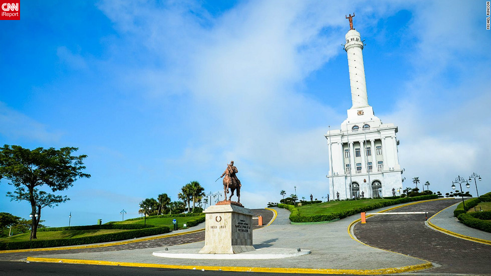 "The Monument of Santiago in the Dominican Republic has become the main symbol of the city of Santiago de los Caballeros, says Misael Rincon. ""You could say it's one of the sources that attract more tourists from around the world and the country ..."""