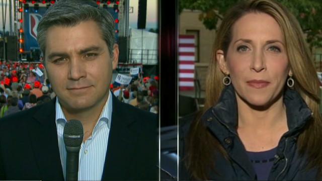 Candidates' tones change after debate