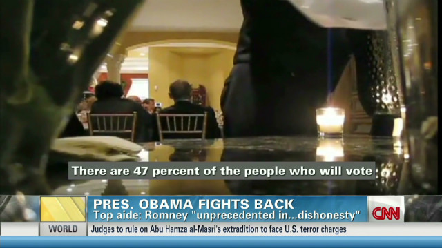"""Romney: """"completely wrong"""" about """"47%"""""""