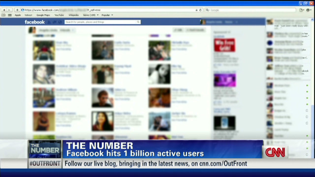 Facebook reaches 1 billion users