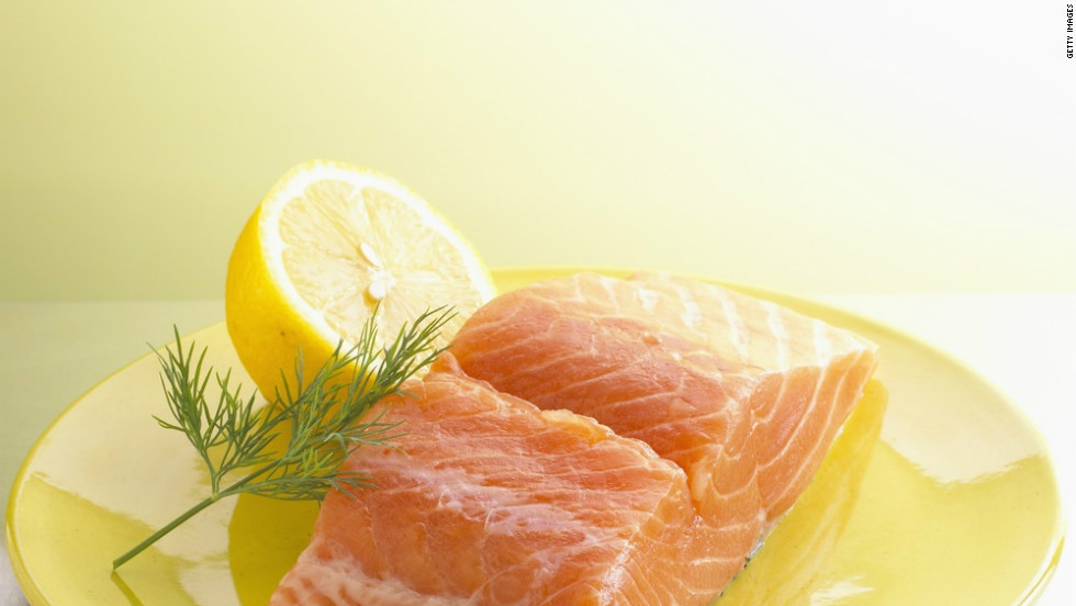 Research suggests that salmon's omega-3 fatty acids help build calorie-burning muscle.