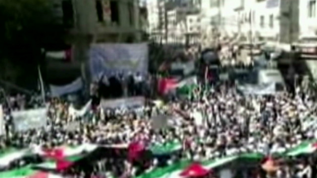 Massive street protests in Jordan