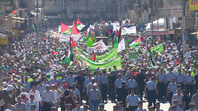 2012: Jordanians demand reform