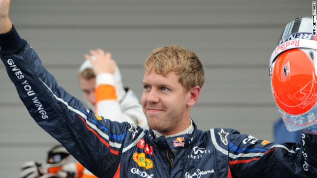 Sebastian Vettel is on pole position for the fourth straight year at Suzuka.