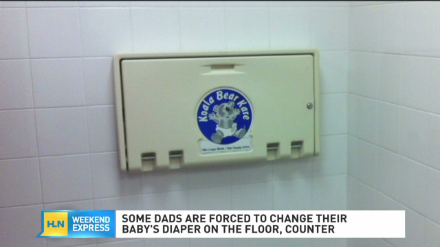 The battle over diapers in men's rooms