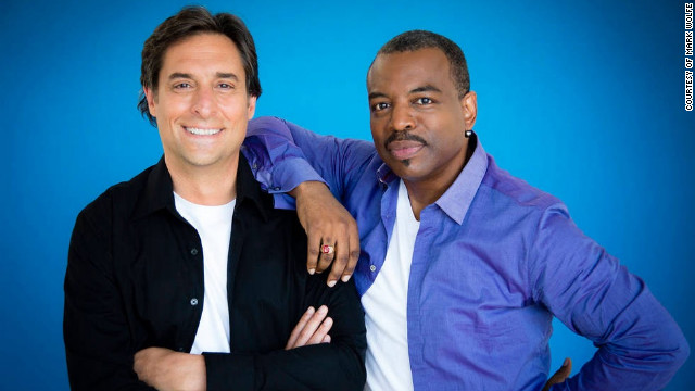 Mark Wolfe and LeVar Burton