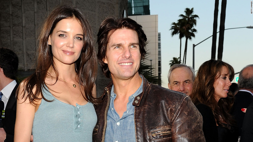 "Tom Cruise went the romantic route when he<a href=""http://news.bbc.co.uk/2/hi/entertainment/4102854.stm"" target=""_blank""> proposed to Katie Holmes in the early morning hours</a> at the Eiffel Tower in Paris in 2005. The pair ""amicably settled"" their divorce in July 2012."