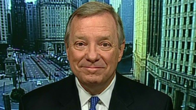 Durbin: Obama 'surprised' by Romney