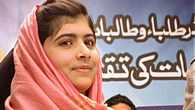 Taliban gunmen shot teen activist