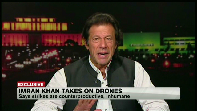 2012: Imran Khan takes on U.S. drones