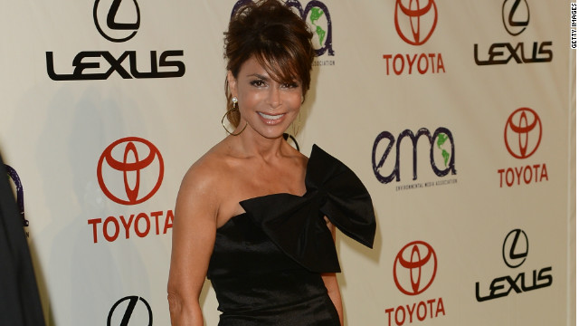 Paula Abdul arrives at the 22nd Annual Environmental Media Awards in September 2012 in Burbank, California.