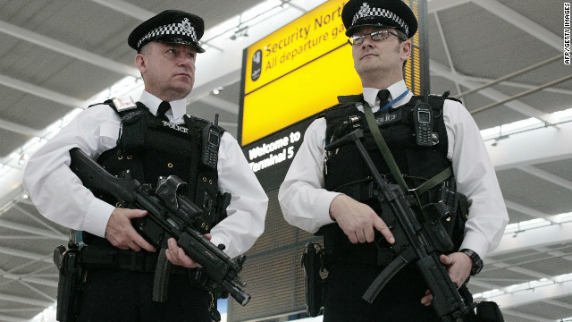 Pair arrested in London terror probe