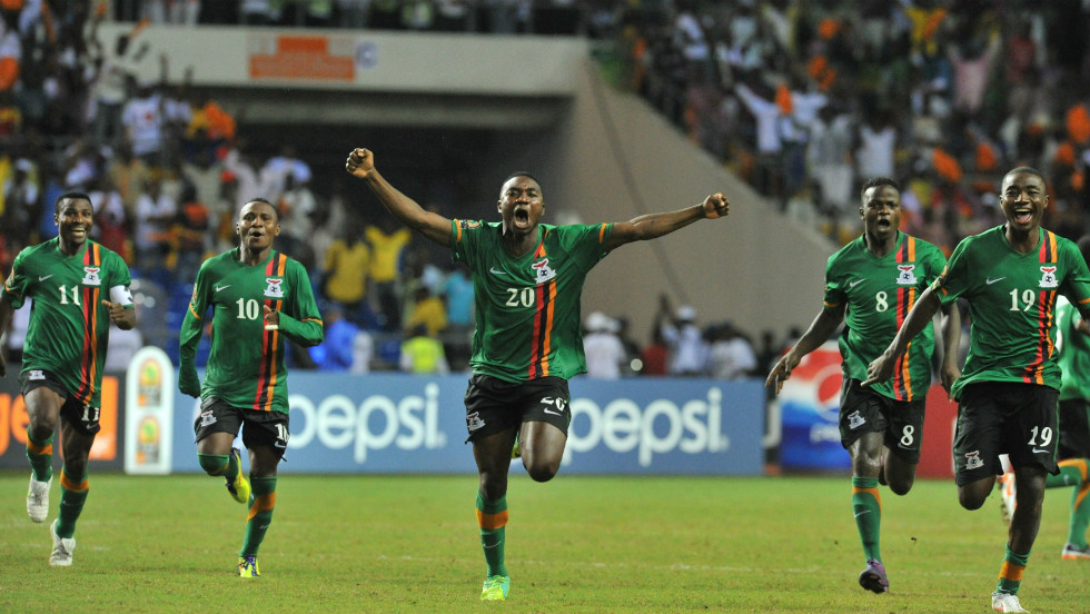 Zambia won the 2012 Africa Cup of Nations, the first time triumph in their history, after beating the Ivory Coast 8-7 in a dramatic penalty shootout in Libreville.