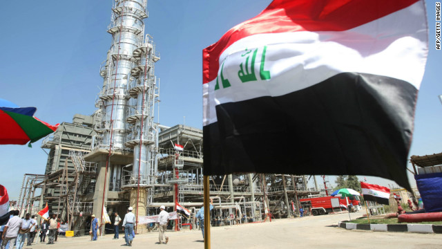 Iraq's oil ambitions
