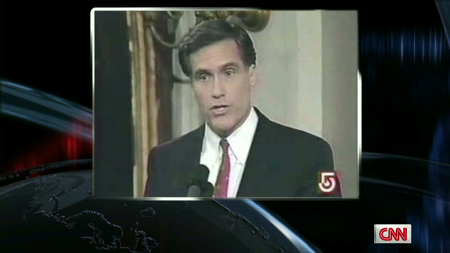 Mitt Romney's changing record on abortion