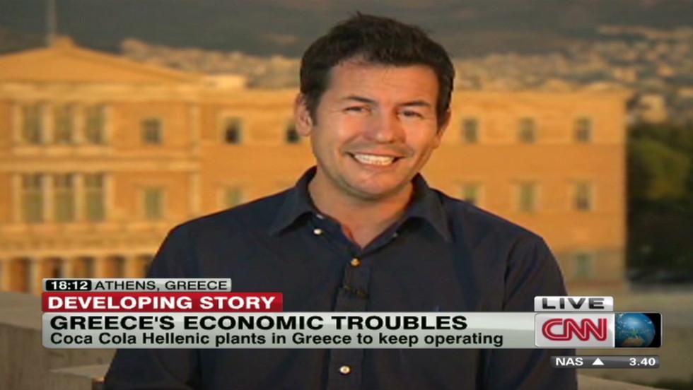 Greece unemployment gets even worse. Matthew Chance reports.