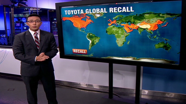 Toyota recalls 7.5 million cars