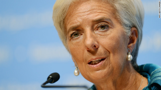 International Monetary Fund (IMF) managing director, Christine Lagarde, said Japan's stimulus plan will help boost global growth.