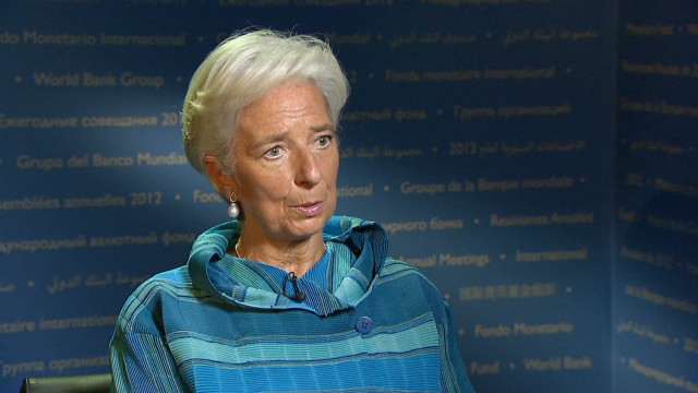 IMF chief: U.S. fiscal cliff a concern