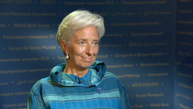 IMF chief: Austerity is hurting growth