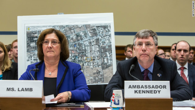 State Department officials Charlene R. Lamb and Patrick Kennedy testify Wednesday on Capitol Hill about the Libya attack.