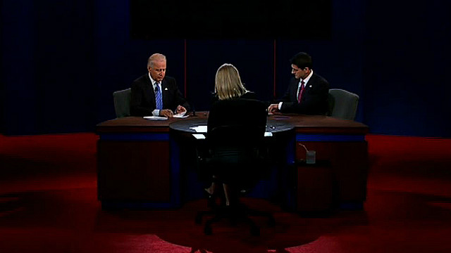 Biden and Ryan square off on jobs
