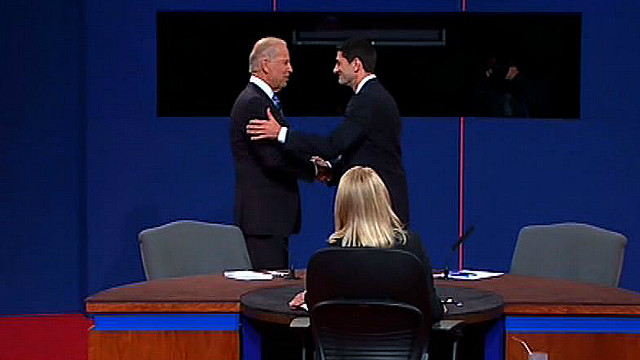 Amusing moments during VP debate