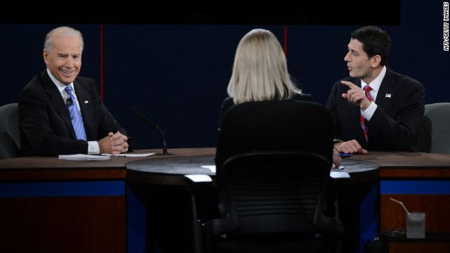 VP debate: Promises, platforms, zingers