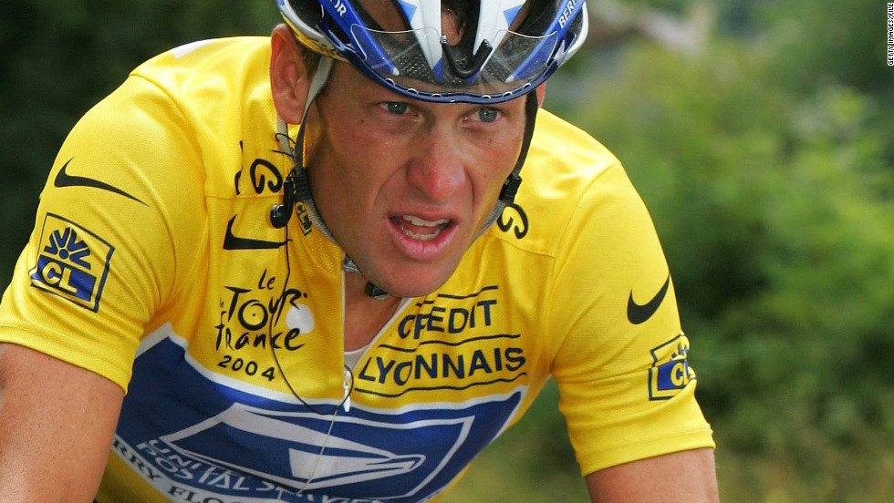 Lance Armstong was stripped of his seven Tour de France titles and banned from professional cycling in October 2012 after being accused of using performance-enhancing drugs. Armstrong confessed in January 2013 to doping during his cycling career.