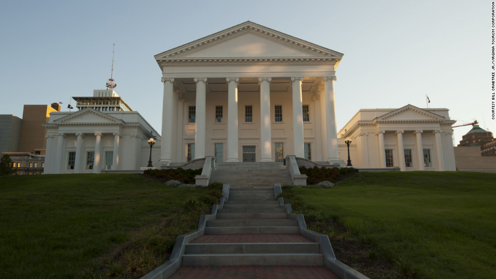 "In ""Lincoln,"" the Virginia Capitol stands in for the U.S. Capitol."