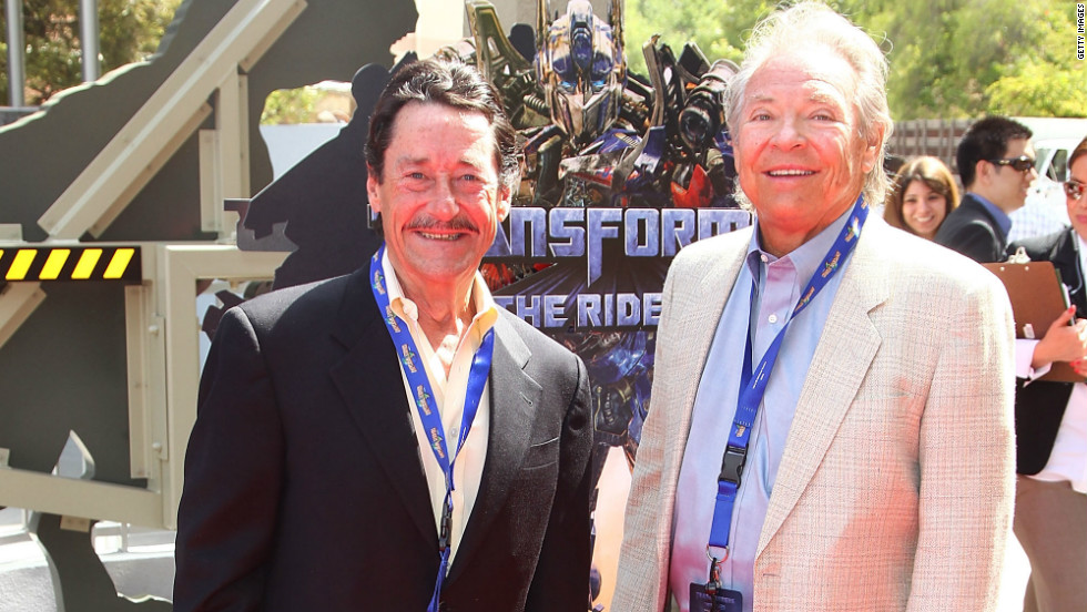 "Optimus Prime and Megatron, the yin and yang of the ""Transformers"" franchise, have sold millions of toys for nearly 30 years, not to mention those blockbuster movies. Peter Cullen, left, has been the instantly recognizable voice of Optimus for almost all of those years. Frank Welker -- a veteran of hundreds of voice roles -- recently returned to the part of Megatron on the animated series, ""Transformers Prime,"" co-starring with his old friend Cullen."