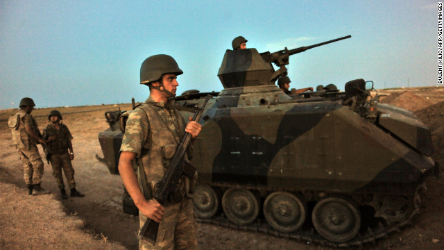 Syrian war spilling over into Turkey