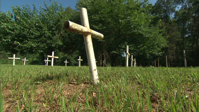 School graves could hide 'evil' past