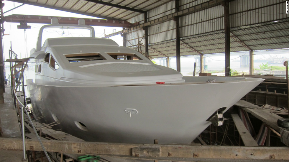 Accelera makes yachts, houseboats and other vessels in Zhuhai, southern China.