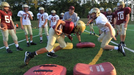Keeping young players safe on the football field