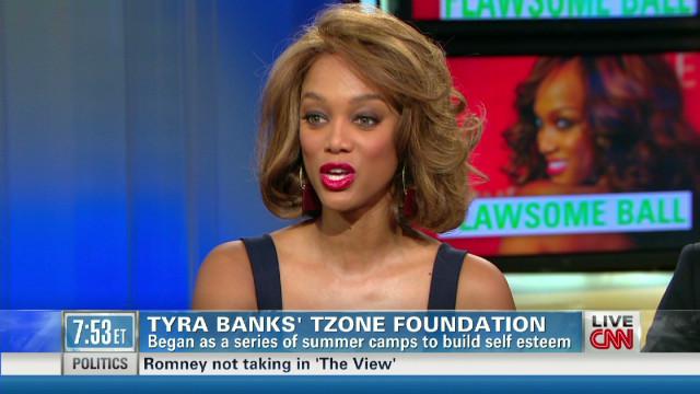 Tyra Banks empowers teen girls