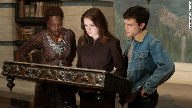 "Viola Davis, Alice Englert and Alden Ehrenreich star in ""Beautiful Creatures."""