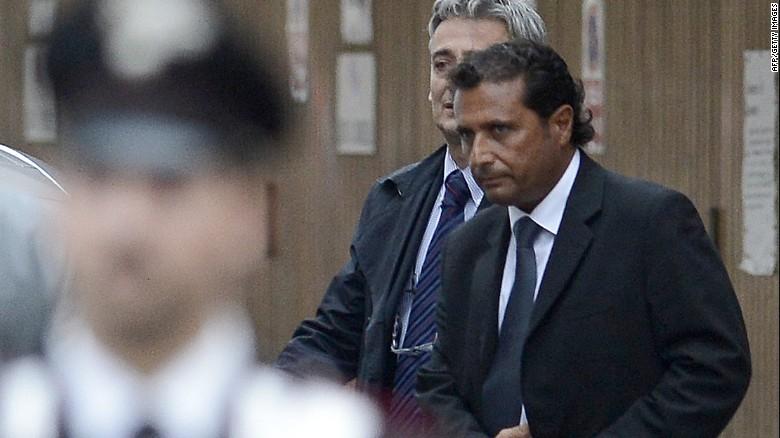 Francesco Schettino, capitán del Costa Concordia, es sentenciado a 16 años de cárcel