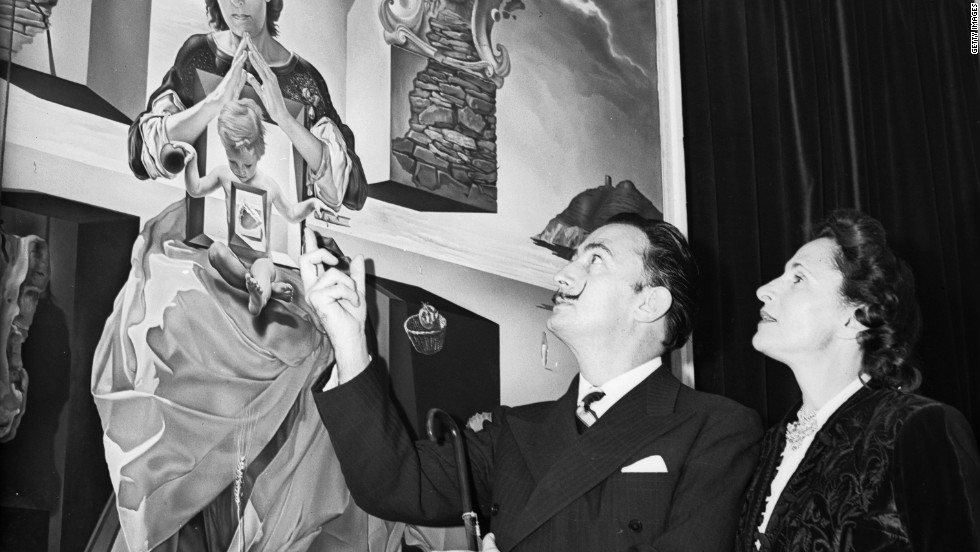 "Spanish artist Salvador Dali's wife Gala featured in many of his works, including 1949 painting ""The Madonna of Port Lligat"". She was also the muse of first husband, French poet Paul Eluard."