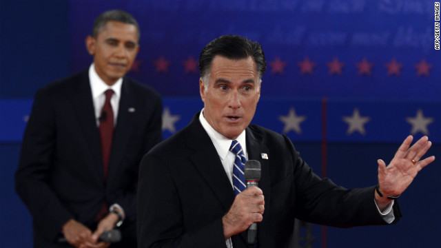 Romney tells 'binders' of women anecdote