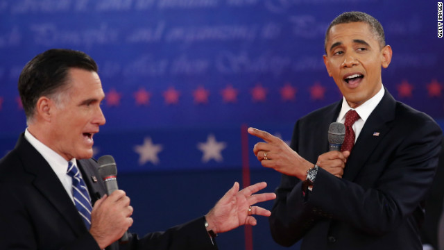 Obama, Romney trade barbs at town hall debate