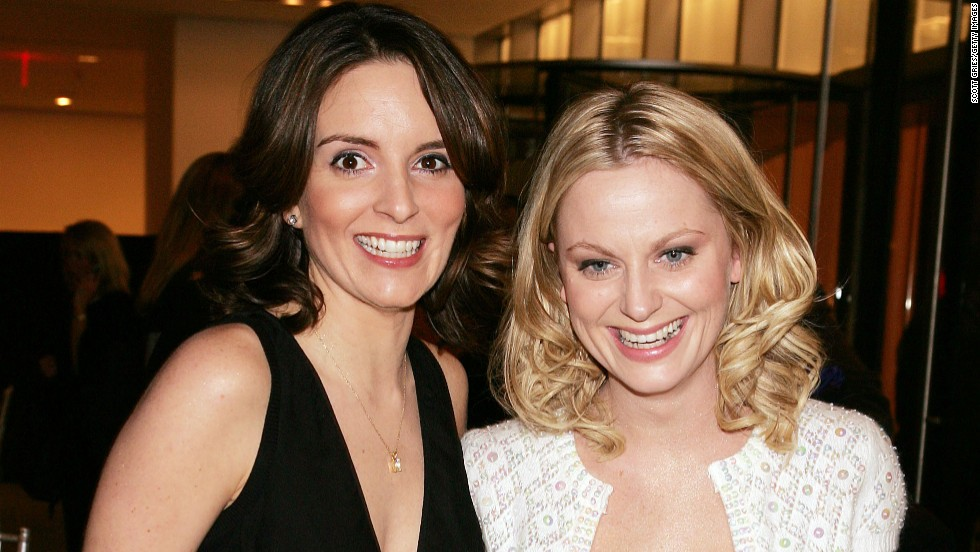 In December 2004, Fey and Poehler attend an event at the Museum of Modern Art in New York.