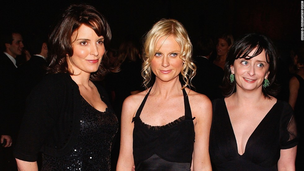 Fey, Poehler and Dratch attend a benefit for New York's Museum of Natural History in November 2005.