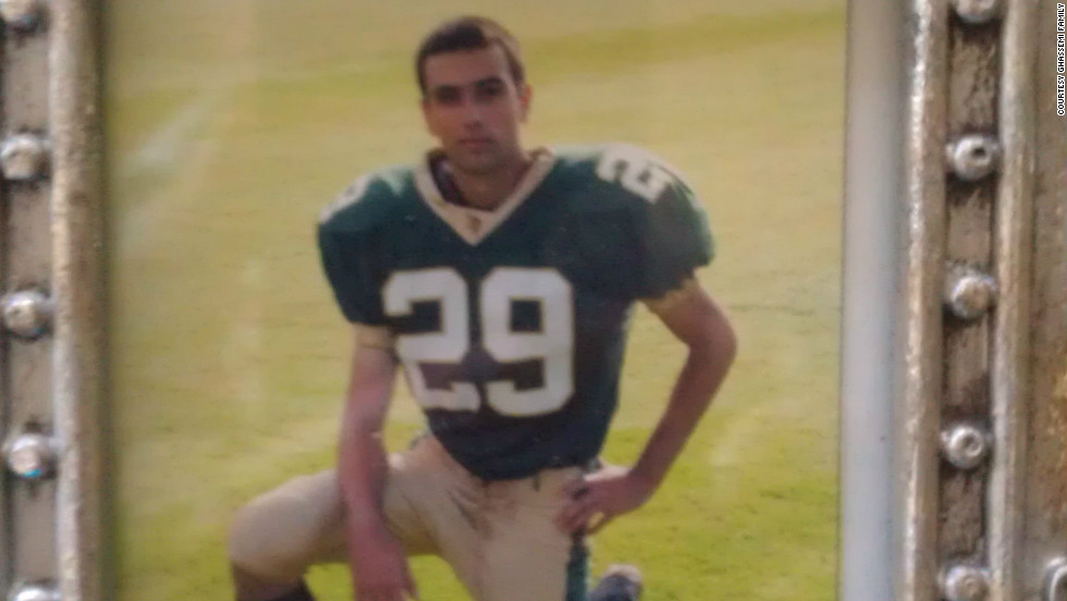 Before the accident, Bobby played on his high school's football team.