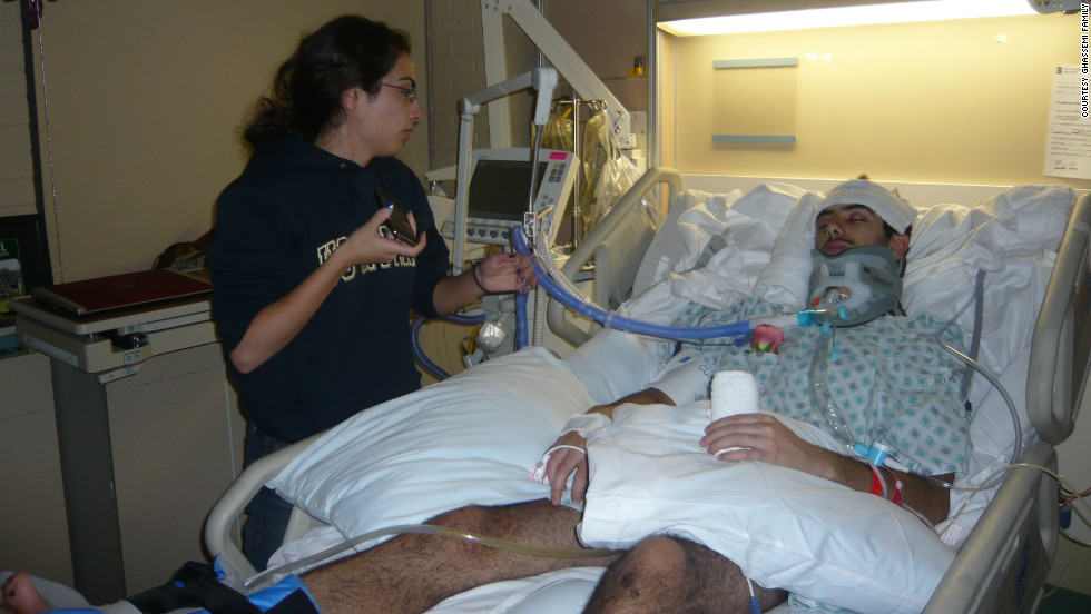 After the accident in March 2010, doctors told Bobby's family that he could live out the rest of his life in a vegetative state.