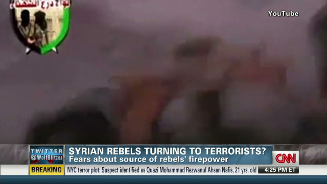 Syrian Jihadists getting weapons