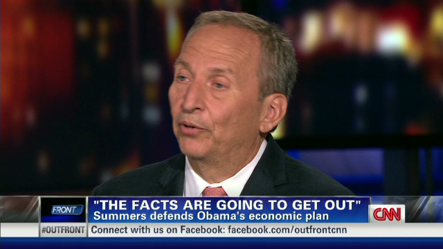 Summers defends Obama's economic plan