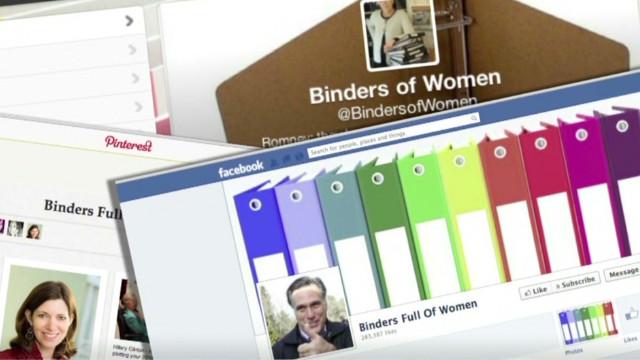 The story of Romney's 'binders of women'