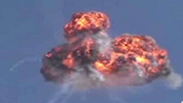 Syrian rebels say they shot down chopper